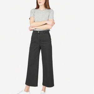 Everlane- wide leg crop pant 00